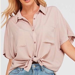 Tops - Just In! Blythe Collared Button Down Top